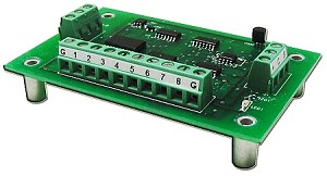 T8A - 8 Channel 12 bit Analog 1-Wire Card (Descontinuado)